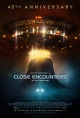 Close Encounters of the Third Kind - 40th Anniversary Movie Poster