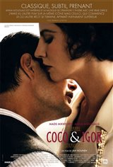 Coco Chanel & Igor Stravinsky Movie Poster Movie Poster