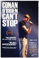 Conan O'Brien Can't Stop Movie Poster