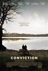 Conviction Movie Poster