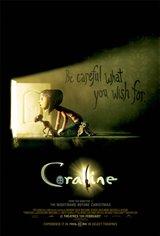 Coraline 3D (v.f.) Movie Poster