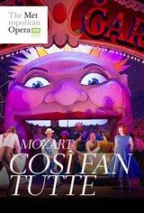 Così fan tutte - Metropolitan Opera Affiche de film