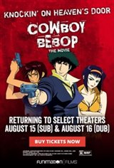 Cowboy Bebop: The Movie - Knockin' On Heaven's Door Affiche de film