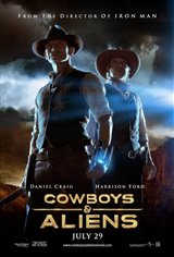 Cowboys & Aliens Movie Poster Movie Poster