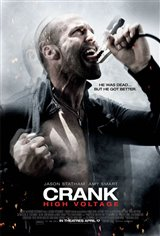 Crank: High Voltage Movie Poster