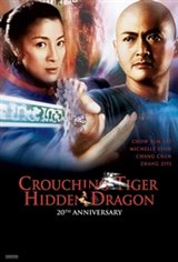 Crouching Tiger, Hidden Dragon 20th Anniversary Movie Poster