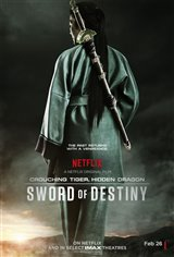 Crouching Tiger, Hidden Dragon: Sword of Destiny (v.o.a.) Affiche de film