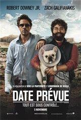 Date prévue Movie Poster