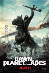 Dawn of the Planet of the Apes Movie Poster Movie Poster