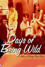 Days of Being Wild Movie Poster