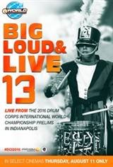 DCI 2016: Big, Loud & Live 13 Movie Poster