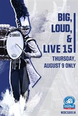 DCI 2018: Big, Loud & Live 15 Large Poster