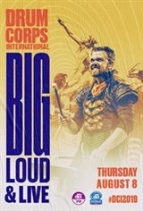 DCI 2019: Big, Loud & Live 16 Large Poster