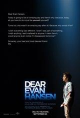 Dear Evan Hansen: The IMAX Experience Movie Poster
