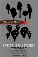 Depeche Mode: SPIRITS in the Forest Movie Poster