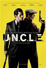 Des agents très spéciaux : Code U.N.C.L.E. Affiche de film