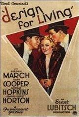 Design for Living Movie Poster