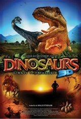 Dinosaurs 3D: Giants of Patagonia Movie Poster