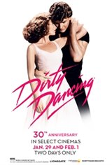 Dirty Dancing 30th Anniversary Movie Poster