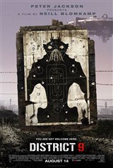 District 9 (v.f.) Movie Poster