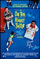 Do the Right Thing 30th Anniversary Affiche de film