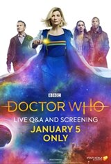 Doctor Who Live Q&A and Screening Movie Poster