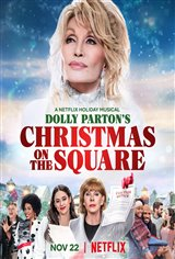 Dolly Parton's Christmas on the Square (Netflix) Movie Poster