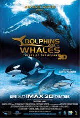 Dolphins and Whales 3D: Tribes of the Oceans Movie Poster