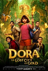 Dora and the Lost City of Gold Affiche de film