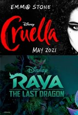 Double Feature: Cruella + Raya and the Last Dragon Large Poster