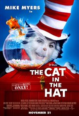 Dr. Seuss' The Cat in the Hat Movie Poster Movie Poster