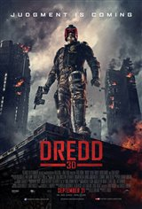 Dredd 3D Movie Poster