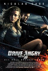 Drive Angry 3D Movie Poster
