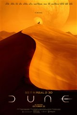 Dune 3D Movie Poster