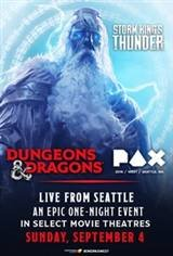 Dungeons & Dragons: PAX West Movie Poster