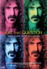 Eat That Question: Frank Zappa in His Own Words Movie Poster