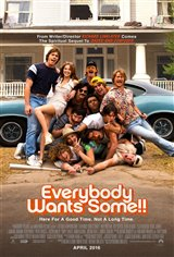 Everybody Wants Some!! (v.o.a.) Affiche de film