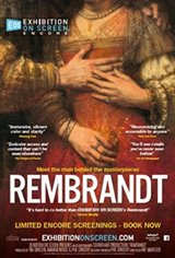 Exhibition on Screen: Rembrandt Movie Poster