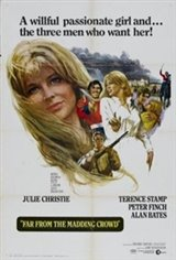 Far From the Madding Crowd (1967) Movie Poster