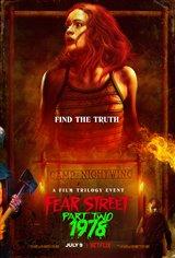 Fear Street Part 2: 1978 (Netflix) Affiche de film
