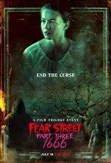 Fear Street Part 3: 1666 (Netflix) Movie Poster