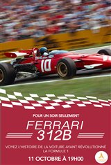 Ferrari 312B (v.o.a.s.-t.f.) Affiche de film