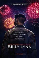 Fin de mi-temps pour le soldat Billy Lynn Affiche de film