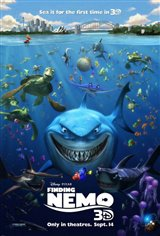 Finding Nemo 3D Movie Poster