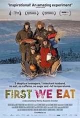 First We Eat Large Poster