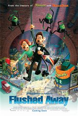 Flushed Away Movie Poster Movie Poster
