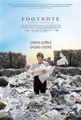 Footnote (v.o.) Affiche de film