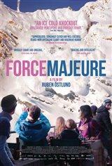 Force Majeure (v.o. suédois, s.-t.f.) Affiche de film