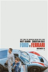 Ford v Ferrari Affiche de film