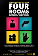 Four Rooms Movie Poster